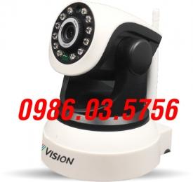 Camera ip Wifi không dây  P2P VISION 6203 HD 720P