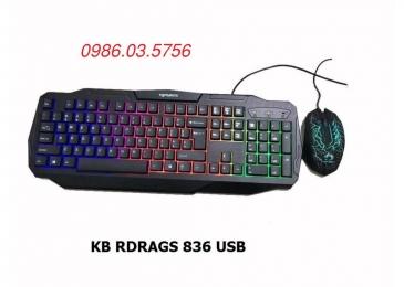 Bộ bàn phím chuột RDRAGS RD836